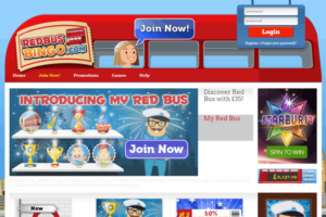Red Bus Bingo Screenshot