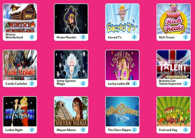 Love Your Bingo Side Games